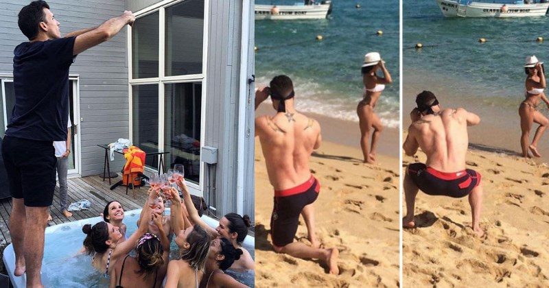 People Are Taking Behind the Scenes Photos of Boyfriends Being Forced to Take Instagram Photos