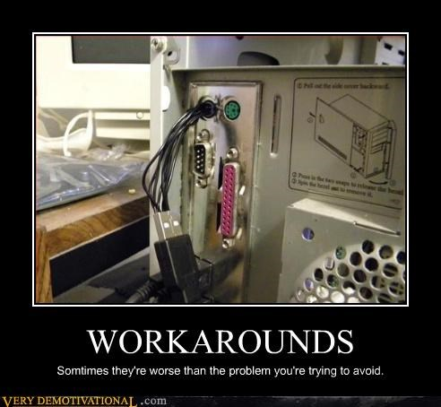 demotivational,idiots,pc check,technology,USB