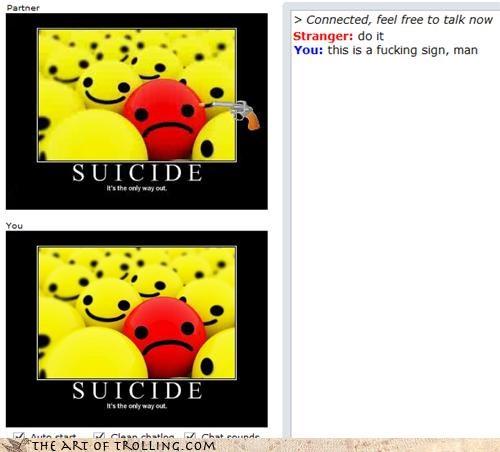 demotivational suicide