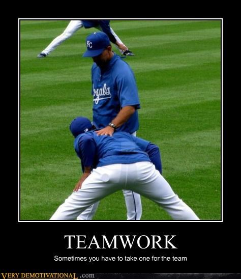 baseball demotivational gay jokes hilarious teamwork - 3300986368