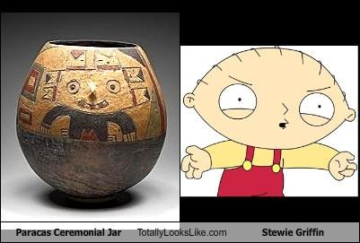 Paracas Ceremonial Jar Totally Looks Like Stewie Griffin