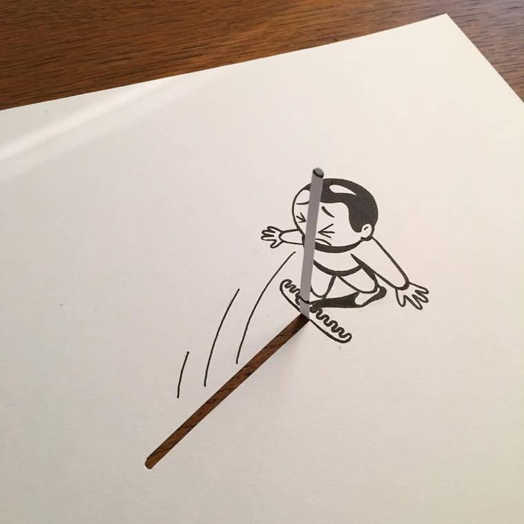 Husk Mitnaven has great artworks and doodles