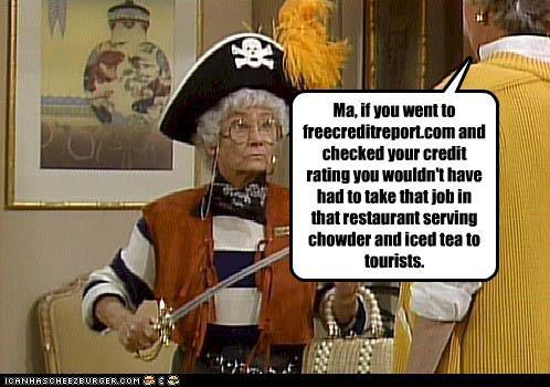 bea arthur,commercials,estelle getty,Pirate,The Golden Girls