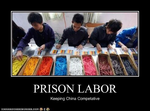 PRISON LABOR Keeping China Competative