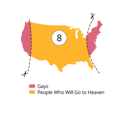 12 funny maps of the USA