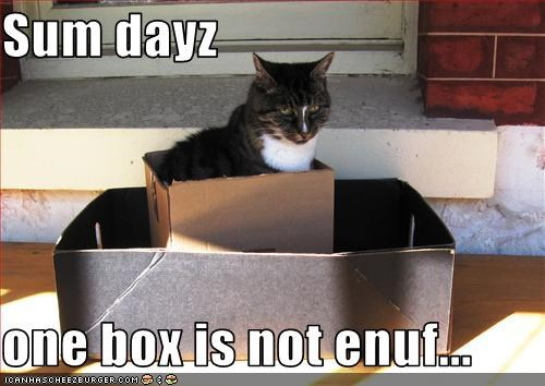 bad day,box