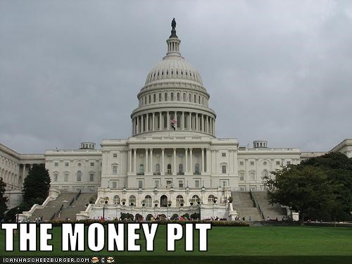 money,spending,US capitol building