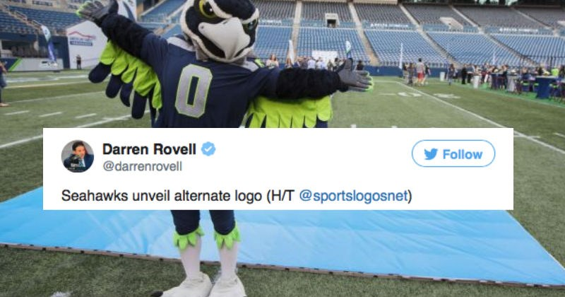 Seattle Seahawks NFL football team is getting trolled after revealing their new logo.