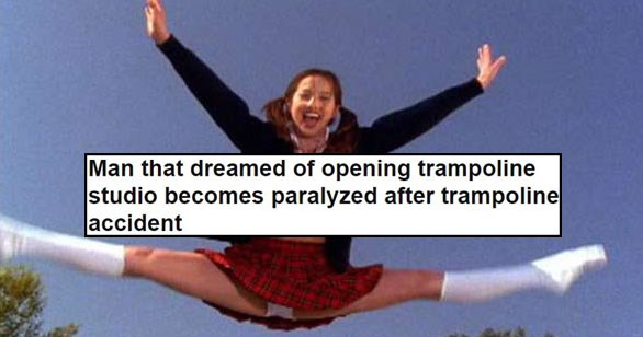 Some very funny and weird news headlines.
