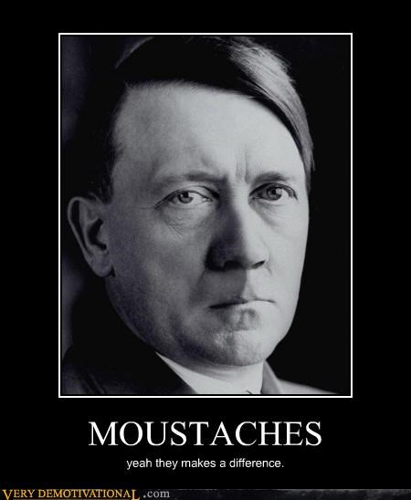 MOUSTACHES yeah they makes a difference.