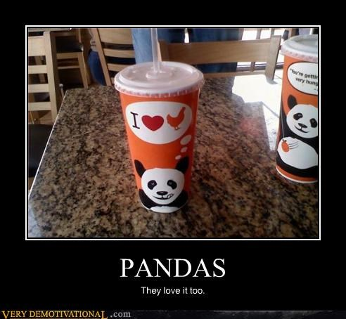 chicken innuendo panda express cup - 3313912320