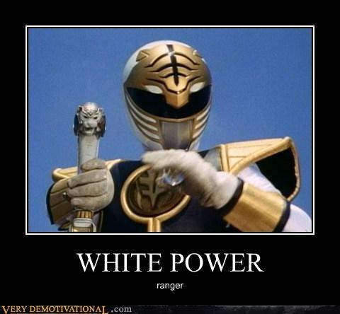 white racist power ranger