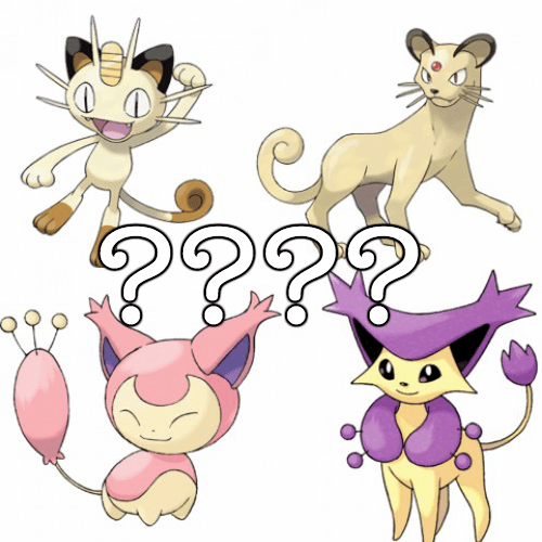 Pokémon list national cat day - 331525