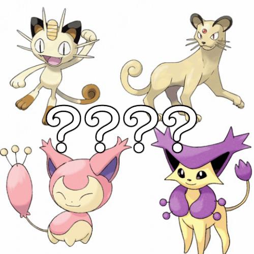 Pokémon list national cat day - 331525