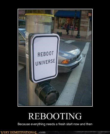 reboot sign button universe - 3315617280