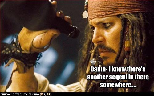 desperate Johnny Depp movies Pirates of the Caribbean sequel - 3316740864
