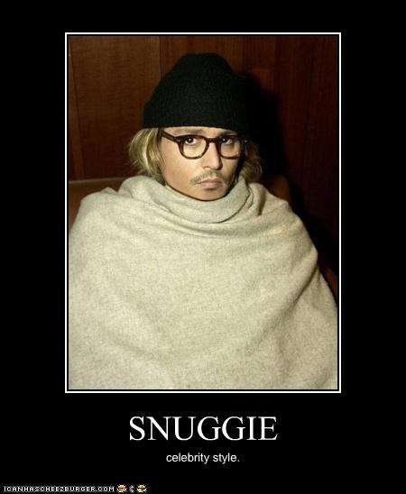 Johnny Depp snuggie the hawt - 3317501440