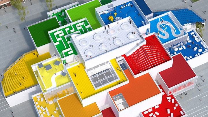 new LEGO house in Denmark