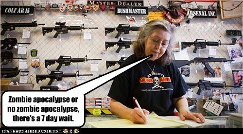 apocalypse,guns,store,zombie