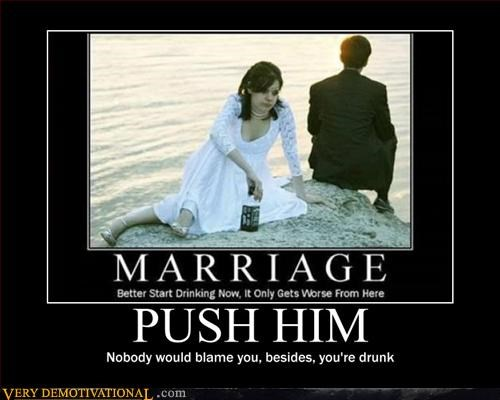 regrets,drunk,wedding,push