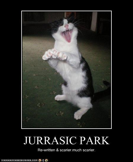 JURRASIC PARK Re-written & scarier.much scarier.