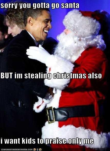 cheezburger image 3323840000 - Stealing Christmas