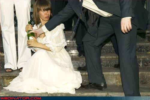 bangs,Crazy Brides,drunk bride,fashion is my passion,hittin-the-bottle,mine,nap time