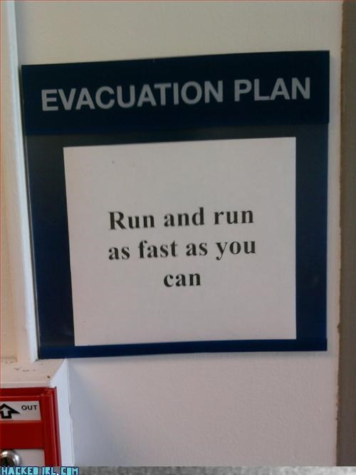 evacuate,warning