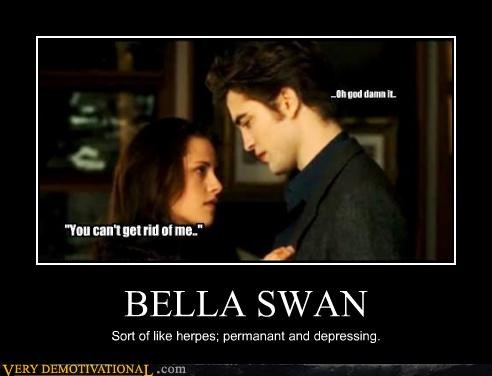 bella swan demotivational edward cullen herpes Sad Terrifying twilight - 3326691328
