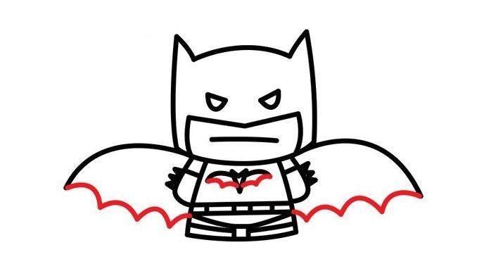paso a paso batman