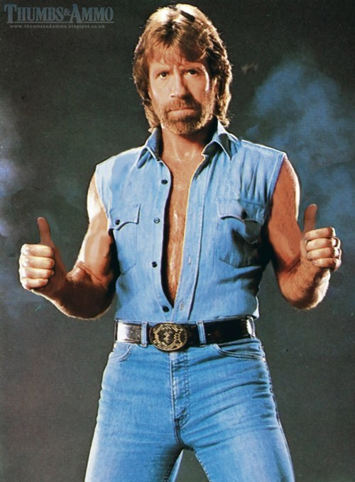 movies chuck norris thumbs up - 33285