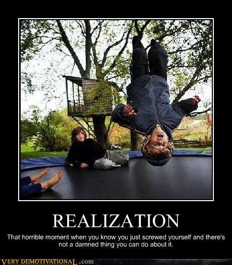 demotivational FAIL kids realization Sad - 3328523520