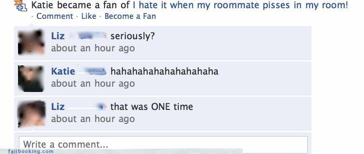 drama fans of gross roommates urine - 3329474304