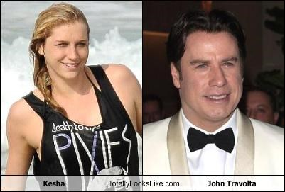 actor Hall of Fame john travolta keha kesha musician singer