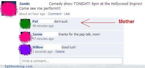 burn,comedy,mother,ouch,parents