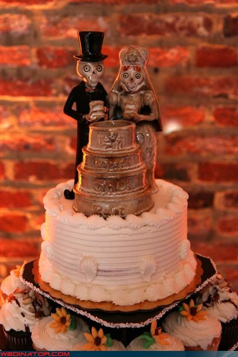 awesomeness cake topper Day Of The Dead Dreamcake symbolic traditional Wedding Themes - 3334539264
