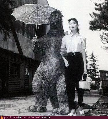 courtship godzilla Japan mating politics wtf