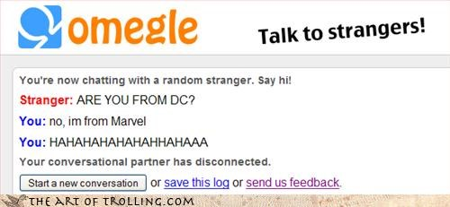 comic DC marvel Omegle - 3336581376