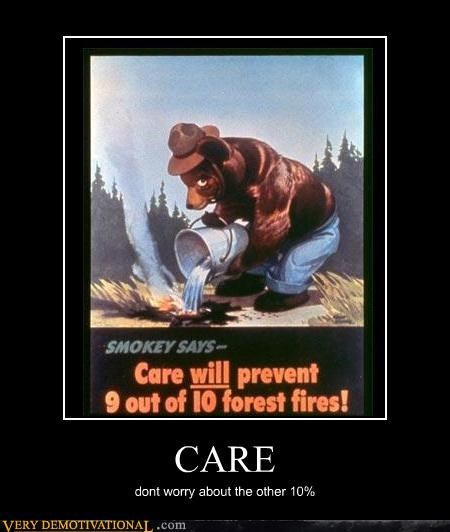 care,forest fires,Smokey