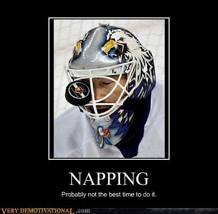hockey sleeping - 3337622016