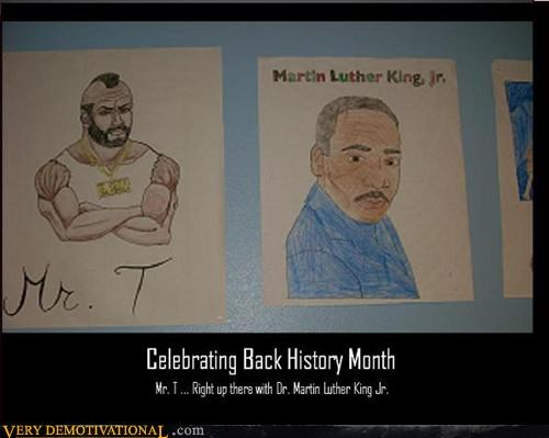 mr t black history martin luther king jr