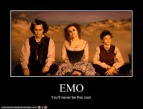 EMO You'll never be this cool.