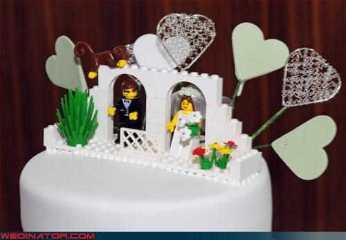 bride chapel destination wedding groom lego monkey plastic people technical difficulties were-in-love Wedding Themes wtf