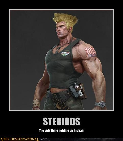 Guile steroids streetfighter - 3340980992
