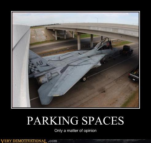 PARKING SPACES Only a matter of opinion