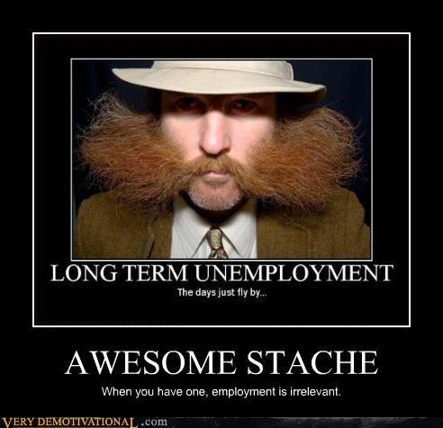 mustache wtf unemployed - 3342258432