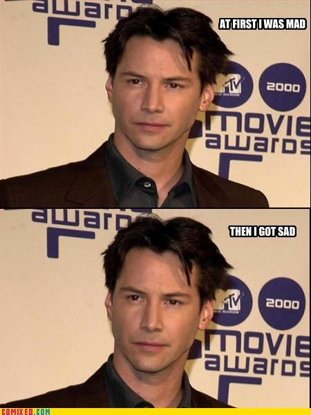 at first i was like but then i emotions keanu reeves neo - 3342370816