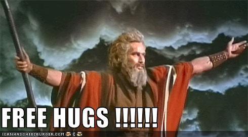 charlton heston hugs moses The 10 Commandments - 3343807744