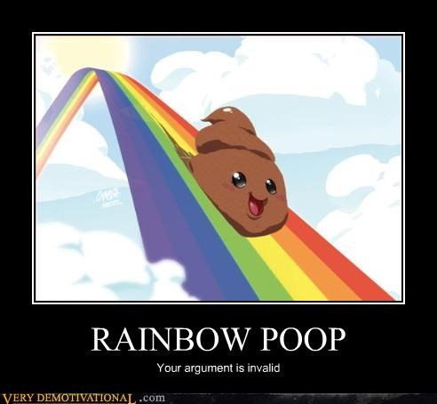 wtf poop bizarre rainbow - 3344713984