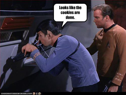 Captain Kirk cookies kirk Leonard Nimoy sci fi Shatnerday Spock Star Trek William Shatner - 3345072384